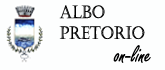 Accedi all'Albo Pretorio on-line