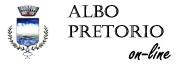 Accedi all'Albo Pretorio on-line